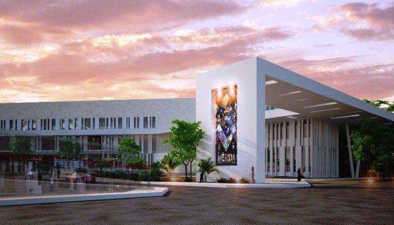 Se construye moderno Centro Internacional de Congresos.